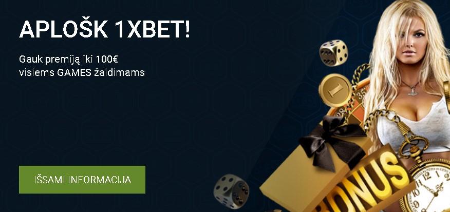1xBet Latvija bonus